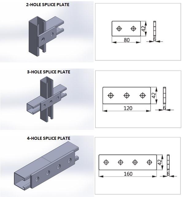 p113_2-Hole Splics Plate 2 .JPG