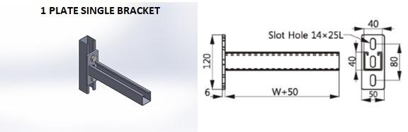 p109_1-Plate Single Bracket 2 .JPG